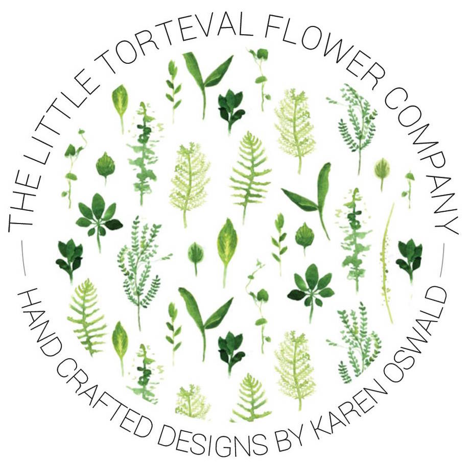 The Little Torteval Flower Company - hand crafted desigsns by Karen Oswald